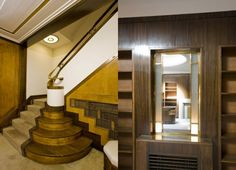 Step back in time: 1930s art deco nine bedroom Marylebone Town House in Harley Street, London, W1G