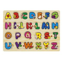 Alphabet Wooden Peg Puzzle Christmas Present List, Family Christmas Presents, Babies First Christmas, Wooden Toys Australia, Puzzle Party, Wooden Numbers, Wooden Alphabet, Baby Center, Wooden Pegs
