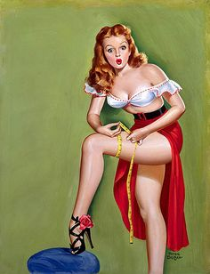 vintage PIN UPS by sweet_bettie67, via Flickr
