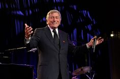 "In a ""New York State Of Mind."" Recording Academy Lifetime Achievement Award recipient Tony Bennett opens wide during a performance at the Exploring the Arts Gala on Oct. 7 in New York"