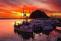 Morro Rock... If I could have any wish, it would be to move to this area of the country and raise my beautiful family NEAR my beautiful family.  Right, @Bethany Watts? :)