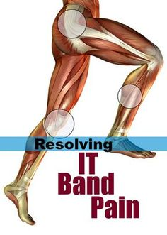 If you have a tight IT Band causing outer knee pain or shooting pain up your leg, these IT Band stretches and IT Band exercises will help get you running. Itb Band Syndrome, Iliotibial Band Syndrome, It Band Stretches, Stretches For Runners, Itbs Stretches, Iliotibial Band Stretches, Stretch Band Exercises, Fascia Stretching, Dynamic Stretching