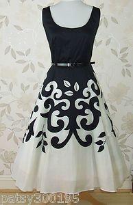 1950's Revival Full Skirt Dress