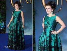 Helena Bonham Carter In Vivienne Westwood Couture – 'Cinderella'  London Premiere