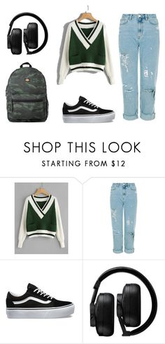 """""""kiparisaki moy"""" by evagelialove on Polyvore featuring Vans, Master & Dynamic and Dickies"""
