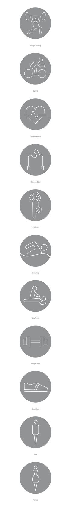 Like the idea of icons for each of our programs for the website, schedule key, posters, etc Fitness Icon, Fitness Logo, Gym Fitness, Fitness Tips, Web Design, Sign Design, Buttons For Website, Gym Icon, Gym Bar