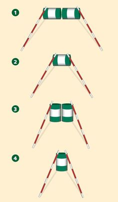 Barrel Jumps - accuracy and straightness. A classic exercise.