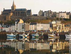 Vue de Granville - Manche - Normandie