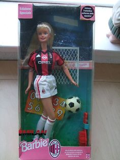 1999 Milan football Barbie