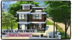 Small Apartment at Dinha Gamer via Sims 4 Updates