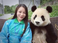 """Panda selfies just surfaced from a massive panda breeding center in China, sparking a flurry of """"awws"""" on one side and raised eyebrows on the other. Selfies, Selfie Poses, Chengdu, Panda Mignon, Panda Lindo, Panda's Dream, Volunteer Programs, Cute Panda, Love People"""