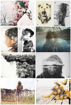 How to create double exposure photographs using Photoshop. Excited to try this!