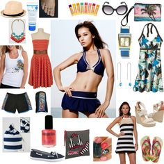 Fun entry for the Weekend Beach Getaway fashion challenge