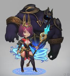 Summoner, ㅇㅇ Joo on ArtStation at https://www.artstation.com/artwork/N2z4g