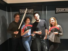 Review: Escape Hunt, The Fourth Samurai Find out how the AGL team got on at the latest room escape, new to Bristol https://anythinggoeslifestyle.co.uk/out-and-about/review-escape-hunt-the-fourth-samurai/ #review #outandabout #bristol #birmingham #roomescape