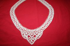 Antique Bobbin Lace Collar by NoWestCreations on Etsy