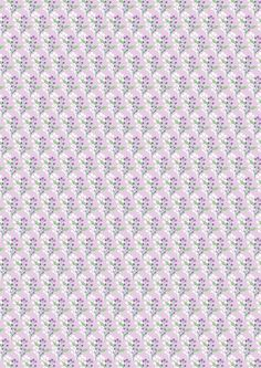 Floral White on Lavender Summer Breeze, Freedom, Lavender, Floral, Fabric, Liberty, Tejido, Political Freedom, Tela