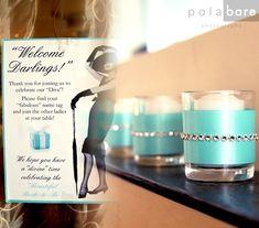 little black dress & pearls bridal shower | Breakfast at Tiffany's | Pola Bare Photography