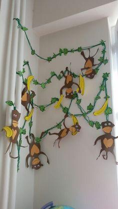 Maymun etkinligi #benimadimmai #etkinlikpaylasimi #okuloncesisevgiisi #preschool #kindergarten