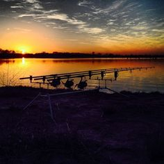2014 Lake Fork Texas Carp & Buffalo Tourny  Sunset
