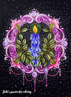 Winterdreams - Hanna Karlzon Colored by Julie's passion for coloring