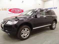 Japanese vehicles to the world: 2008 Volkswagen Touareg V6 RHD 4WD for Kenya to Mo...