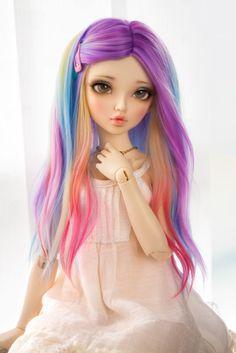 Rainbow Wig done   Updates   New Series?