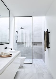 Modern Toilet and Bathroom Designs Home Interior Design Modern Minimalist Black and White Lofts modern bathroom design small modern bathroo. Minimalist Bathroom Design, Modern Bathroom Design, Bathroom Interior Design, Modern Minimalist, Bathroom Designs, Bathroom Images, Modern Design, Modern Toilet Design, Minimalist Design