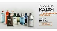 Nesta quinta, 13/08, compre todos os perfumes Kaiak com desconto de 30% e com frete grátis para todo o Brasil.  Utilize o cupom BRINDEKAIAK e ganhe uma mochila Kaiak Urbe. Aproveite a promoção.  A Natura entrega em sua casa em todo o Brasil. Pague diretamente à Natura com boleto bancário ou divida em até 6x sem juros no cartão de crédito (parcela mínima de R$ 30,00). #natura #Kaiak #perfume #homem #mulher #brinde #presente #oferta #promocao