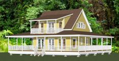 24x24 House -- #24X24H3B #shedplans Garage Apartment Plans, Garage Apartments, Garage Plans, Shed Plans, House Plans, Hawaii Homes, Windows And Doors, Tiny House, Floor Plans