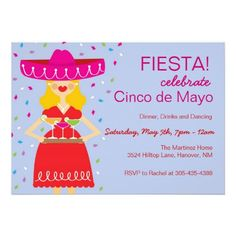 Cinco de Mayo Margarita Invitations