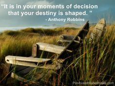 Take your time when making decisions that may change the course of your life.