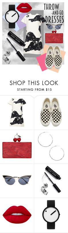 """Big Sis"" by zeynep-sumerval ❤ liked on Polyvore featuring Valentino, Vans, Edie Parker, Ippolita, Bobbi Brown Cosmetics, Lime Crime, Rosendahl, contest, contestentry and fashionset"