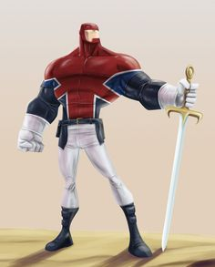If the makers of The Invincibles made a Captain Britain movie ?
