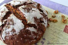 Roggenmischbrot mit Walnüssen und Honig #Brot #Sauerteig
