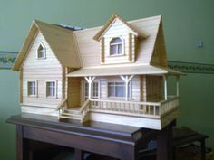 Popsicle Stick Crafts House, Craft Stick Crafts, Popsicle Sticks, Doll House Crafts, Home Crafts, Doll House Plans, Farmhouse Paint Colors, Hobby House, Diy Wand