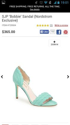SJP Bobbie pump in mint from Nordstrom