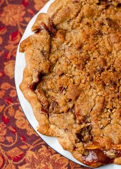 Cafe Johnsonia: Brandied Apple Pie