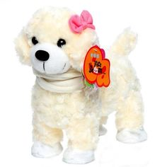 3 patterns New Electronic Toys Funny Singing Electronic Pets Toy Plush Walking Dog Gift pet For Children Girls Birthday Gifts