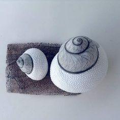 PAINTED SHELLS  #shells #seashells #contemporaryart #bythesea #collecters #designer #homedecor #love #sealovers
