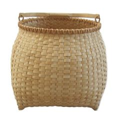 Hand Woven Large Kettle Basket