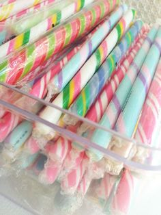 We had a gift shop in Cambria, California and sold gifts and fudge my hubby made and sold a lot of these flavored candy sticks.I met my husband in his shop in and married a year later :) Caramel Mou, Candy Cookies, Colorful Candy, Candy Store, Candy Buffet, Pretty Pastel, Candyland, Confectionery, Cute Food
