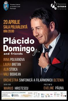 Laura Bretan, invitata speciala in concertul lui Placido Domingo jr. Laura Bretan, Placido Domingo, Vanessa Williams, Diana Ross, Nicu, Orchestra, Tango, Grand Prix, Illinois