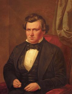 Portrait of Abram Daniel Smith, former president of the Hunters Lodge