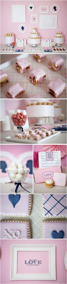 navy && pink