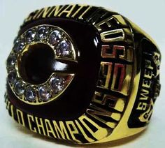 1990 Cincinnati Reds Ring