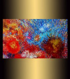24x40 Original Modern Abstract painting