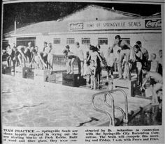 Park Ro She was Utah County's most popular swimming joint from 1924 to the Photo Courtesy of Springville Historical Society Historical Society, History Facts, Historical Photos, 1980s, Utah, Swimming, Popular, Park, City