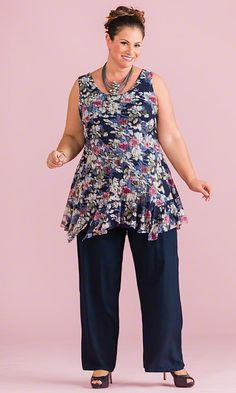 Windsor Sleeveless Lined Tunic / MiB Plus Size Fashion for Women / Spring Fashion  http://www.makingitbig.com/product/5161