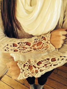 These lace sleeves are amazing! So glad I bought this